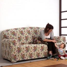 Bielastischer Sofabezug Modell Fabiola